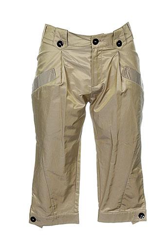 chipie shorts / bermudas femme de couleur beige