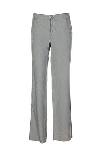 Pantalon casual vert ET VOUS pour femme