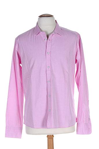 edween pearson chemises homme de couleur rose