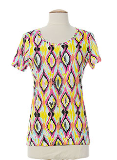 Produit-T-shirts / Tops-Femme-LEO GUY