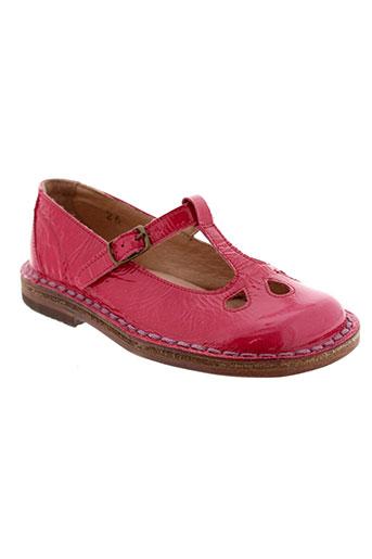 pepe chaussures fille de couleur rose