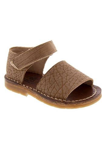 pepe chaussures garçon de couleur marron