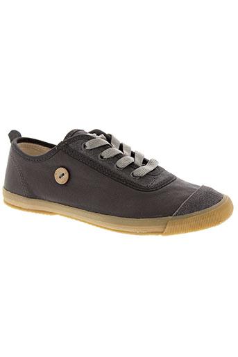 faguo chaussures homme de couleur gris