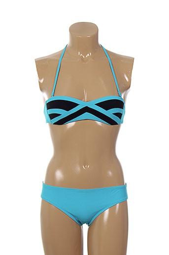 lilly maillots de bain femme de couleur bleu