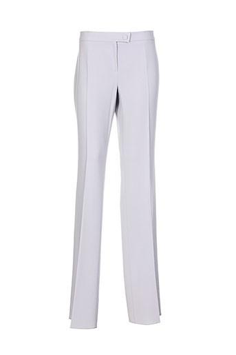 marella pantalons femme de couleur gris