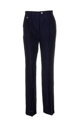 schneiders pantalons femme de couleur bleu
