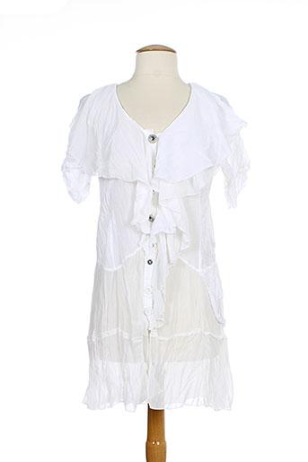 elisa cavaletti tuniques femme de couleur blanc