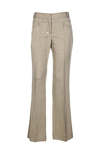 jocavi pantalons femme de couleur vert