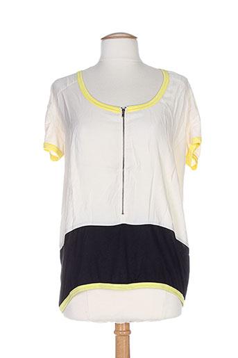 numph t-shirts / tops femme de couleur beige