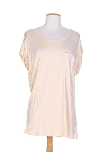 mexx t-shirts femme de couleur orange