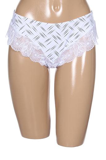 antinea shortys et boxers femme de couleur blanc