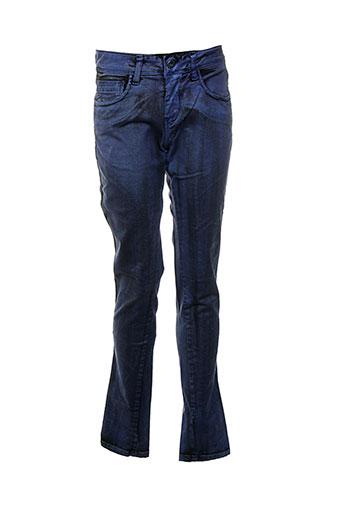 la et fee et maraboutee pantalons et decontractes femme de couleur bleu