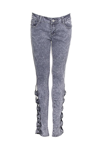 blue rags jeans femme de couleur gris