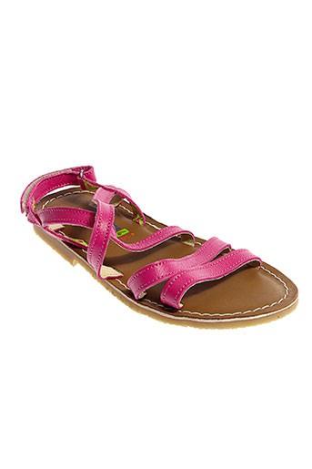 koel sandales et nu et pieds fille de couleur bleu