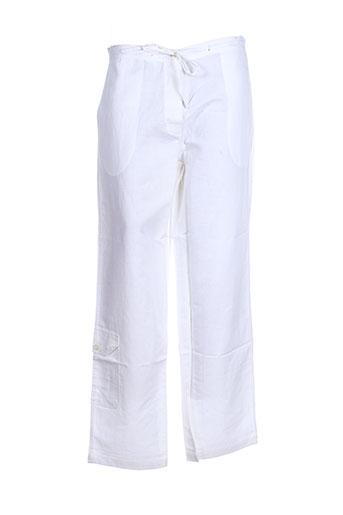 coup de coeur pantalons femme de couleur blanc
