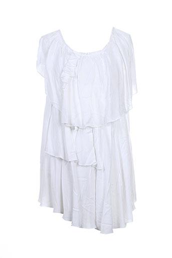 s'nob de noblesse t-shirts femme de couleur blanc