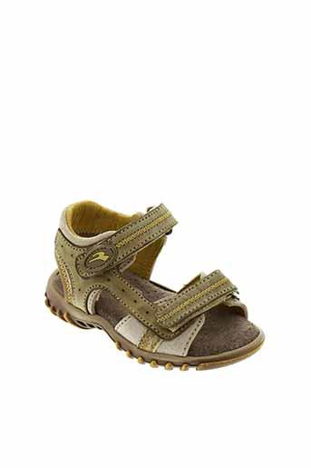 romagnoli chaussures garçon de couleur vert