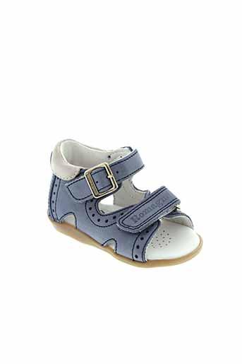 romagnoli chaussures garçon de couleur bleu