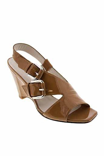 bruno premi chaussures femme de couleur marron