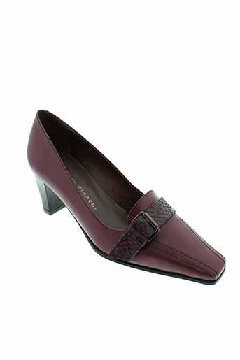 pietro et bianchi escarpins femme de couleur violet