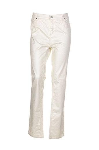 gerard darel pantalons femme de couleur beige