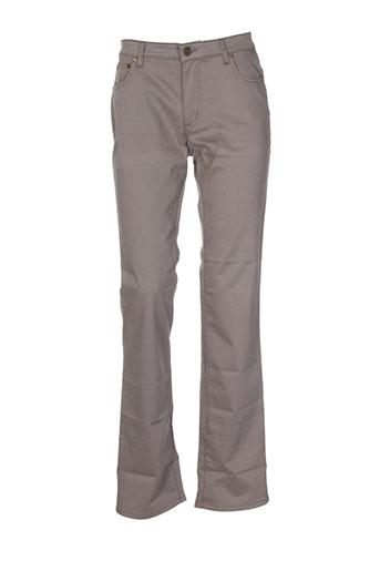 cerruti 1881 pantalons femme de couleur marron