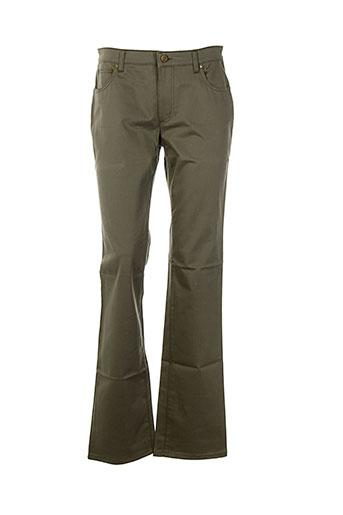 cerruti 1881 pantalons femme de couleur vert