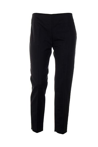 piazza sempione pantalons femme de couleur noir