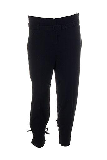 chiquita pantalons femme de couleur noir