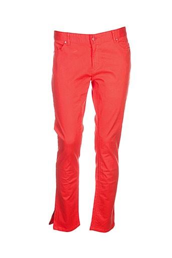 an et ge pantalons et decontractes femme de couleur orange