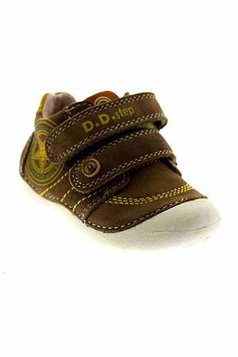 d.d.step chaussures garçon de couleur marron