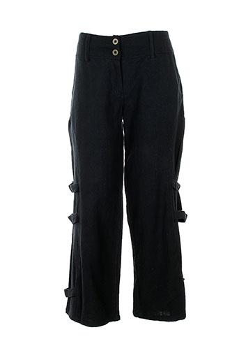 lana EFFI_CHAR_1 lisa pantalons femme de couleur noir