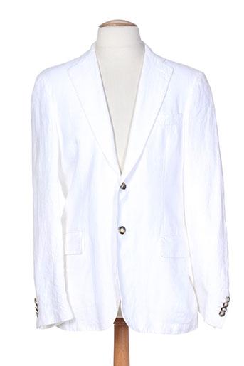 pal zileri vestes homme de couleur blanc