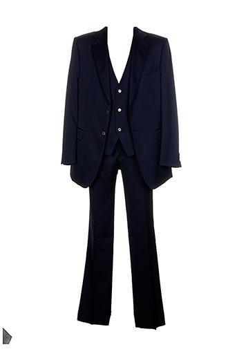 pal et zileri pantalon et veste homme de couleur bleu