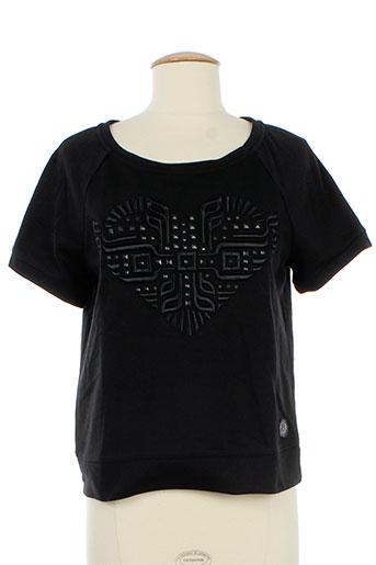kelly rose t-shirts femme de couleur noir