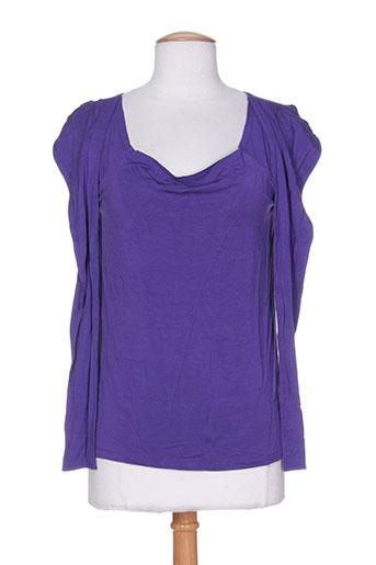 scapa t-shirts femme de couleur violet