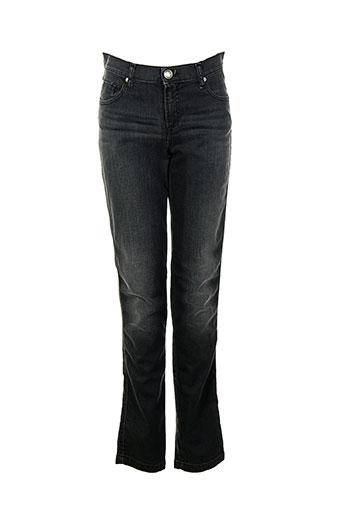 votre nom jeans femme de couleur noir