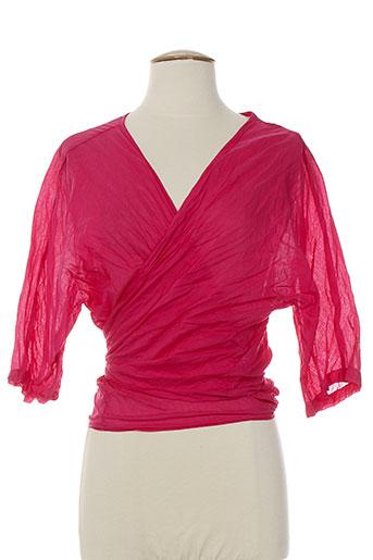 bella blue gilets femme de couleur rose