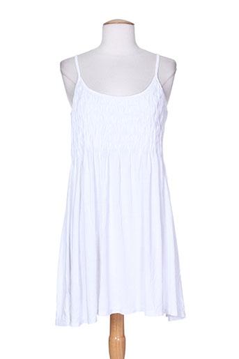 seafolly robes femme de couleur blanc