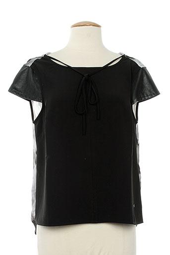 kocca chemises femme de couleur noir