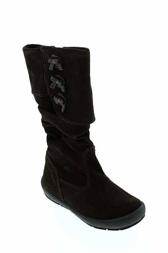 naturino bottes fille de couleur marron