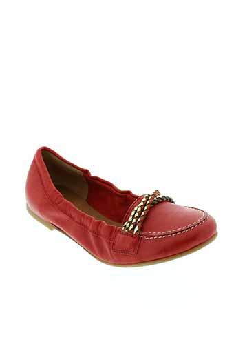mally chaussures femme de couleur rouge