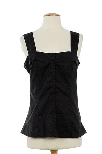 eliane et lena chemises femme de couleur noir