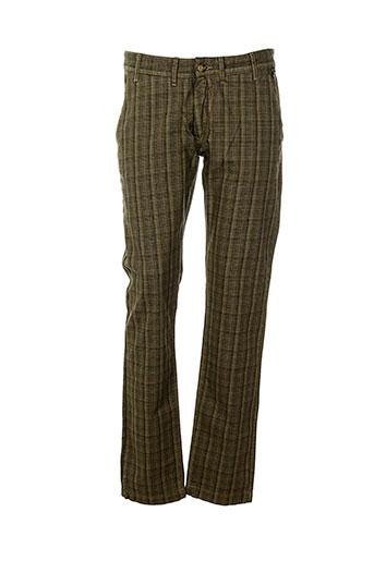 cent's pantalons femme de couleur marron