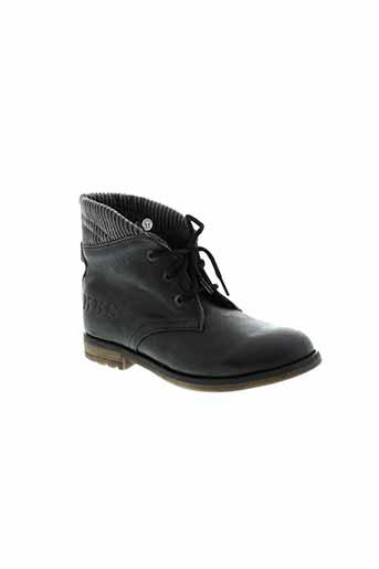 ikks boots garcon de couleur gris