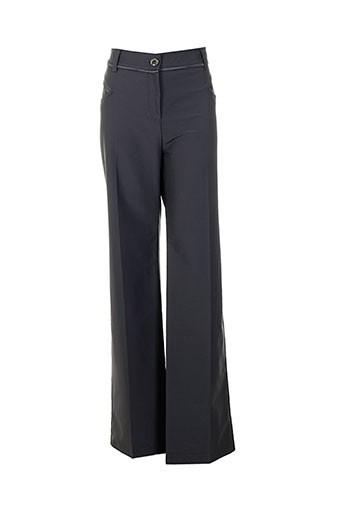 lasagrada pantalons femme de couleur gris