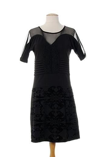 les fees du vent robes femme de couleur noir