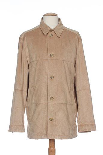 chevy vestes homme de couleur beige