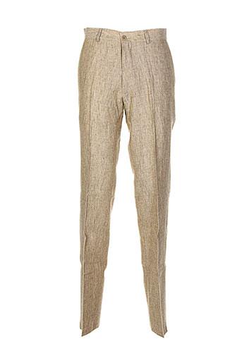 vuarnet pantalons homme de couleur beige