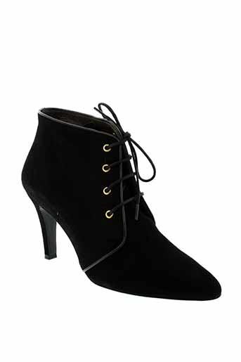 ippon et styl boots femme de couleur noir